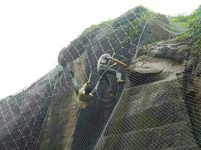绞索网施工